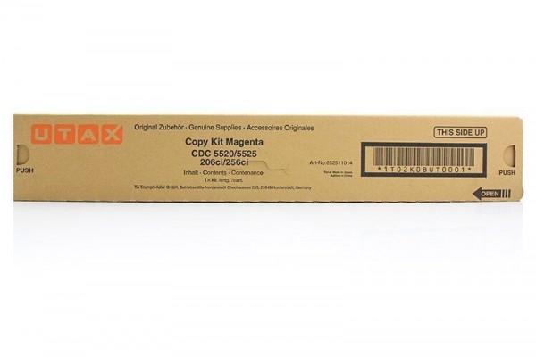 UTAX Toner 652511014 magenta Druckleistung ca. 6000 Seiten