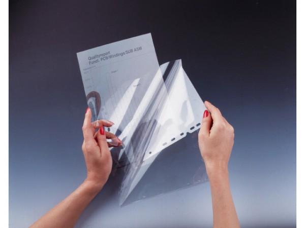 Overheadhülle A4 PP transparent 100 St./Pack Duraframe Schutz- und Präsentationshülle