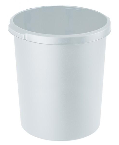 Papierkorb 30 Liter rund HAN Standard lichtgrau