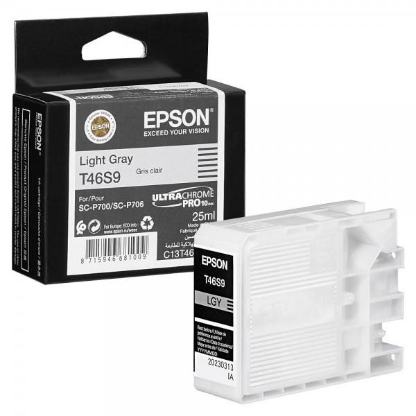Epson Tintenpatrone T46S9 light grau Inhalt 25ml