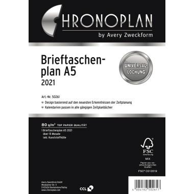 Chronoplan Brieftaschenplaner A5 2021
