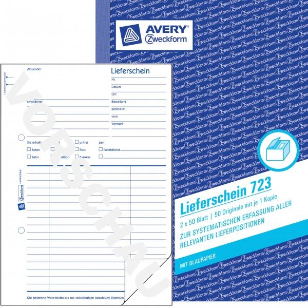 Zweckform Lieferschein A5 2x 50 Blatt