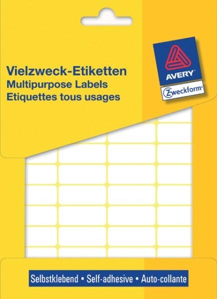 ETIKETTEN 29X18MM WEISS 960-ER PACK