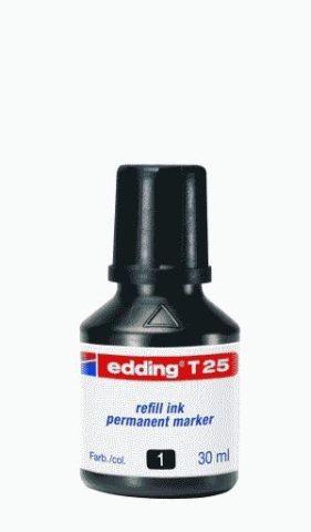 EDDING T 25 30ML SCHWARZ