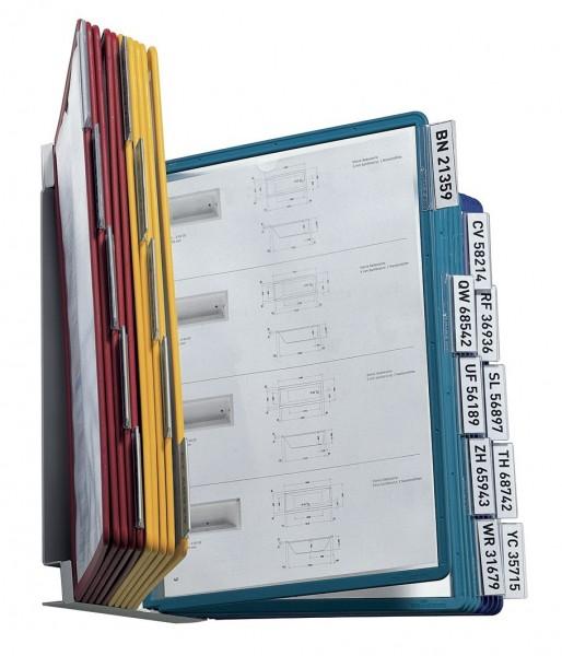 Sichttafelsystem VARIO wall 20 hellgrau inkl. 20 Sichttafeln